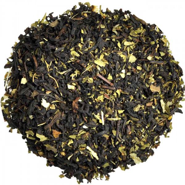 India Mint - aromatisierter Schwarztee