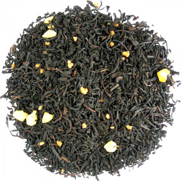 Krokant-Sahne - aromatisierter Schwarztee