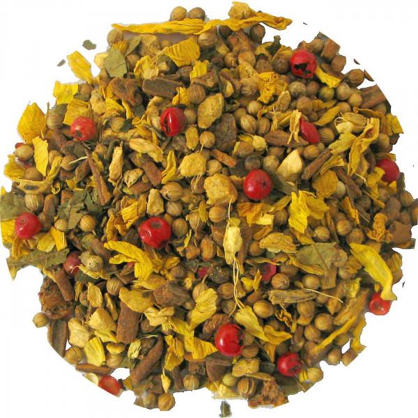 Ingwer-Vanille - aromatisierter Kräutertee