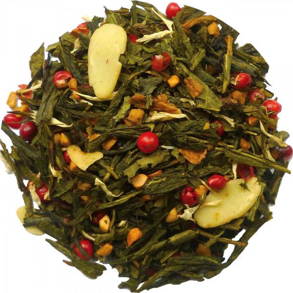 Grüne Weihnacht - aromatisierter Grüntee