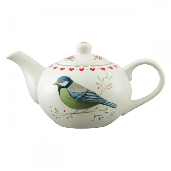 Teekanne Vogelbunt 1,0 l