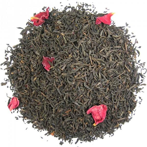 China Rose Congou - aromatisierter Schwarztee