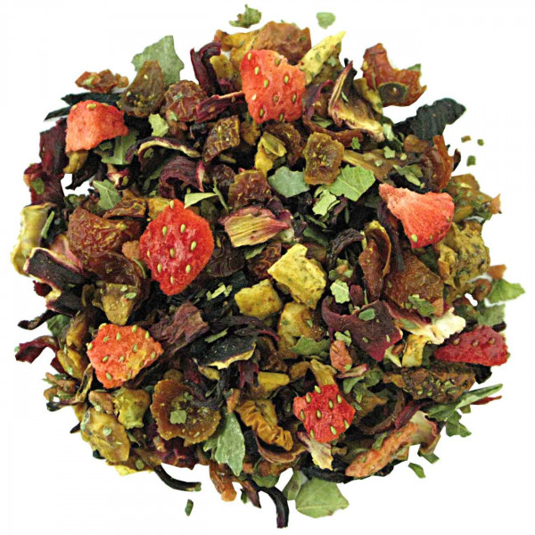 Erdbeer-Sahne - aromatisierter Früchtetee