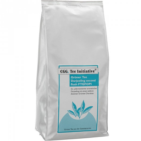 Tee Initiative 1 kg Darjeeling Grün Second Flush FTGFOP-1