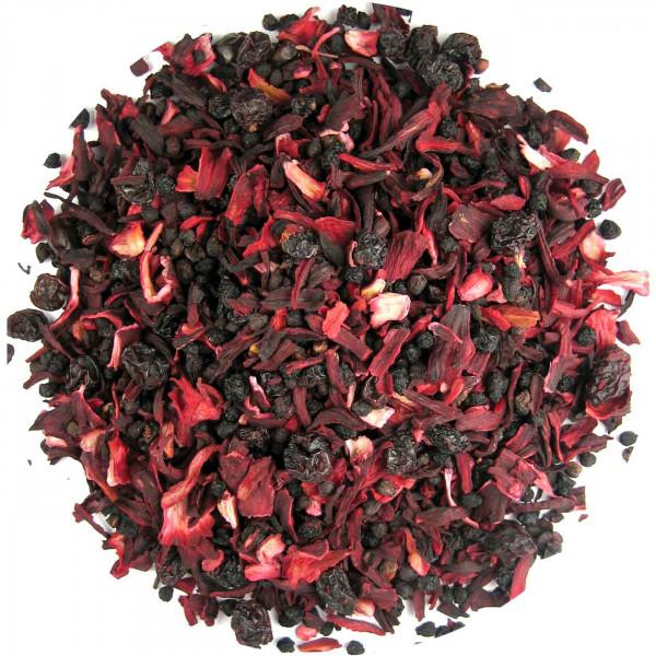 Himmlische Rote Grütze - aromatisierter Früchtetee