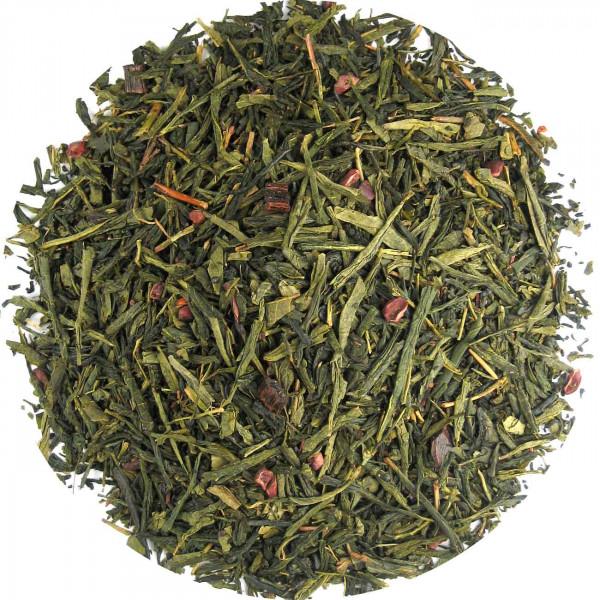 Vanille Green - aromatisierter Grüntee