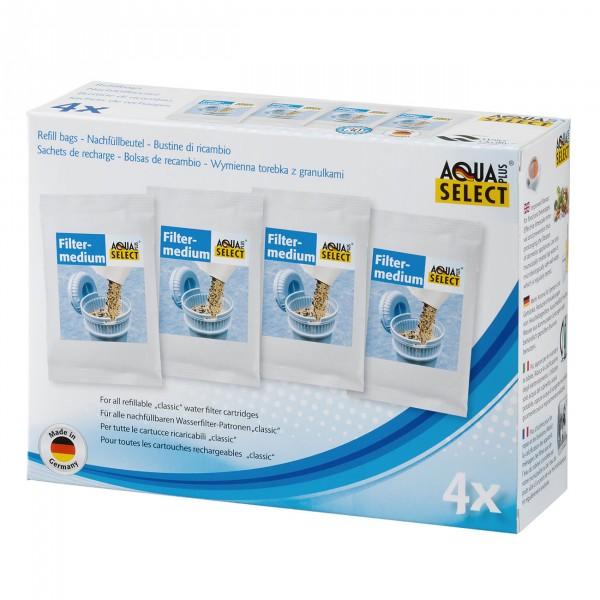 Aqua Select Refill Granulat-Nachfüllbeutel, 4er Pack