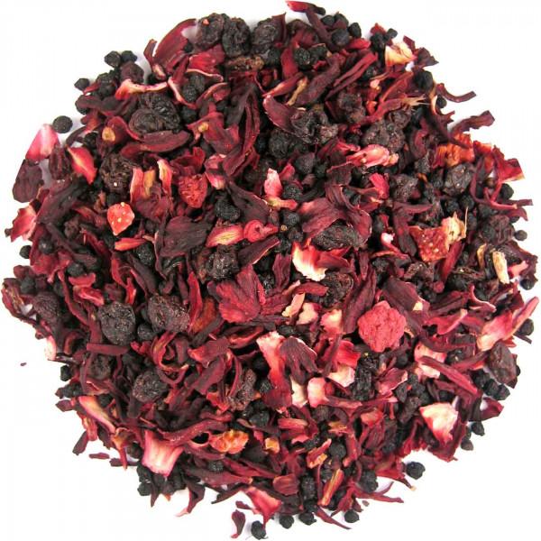 Rumtopf - aromatisierter Früchtetee