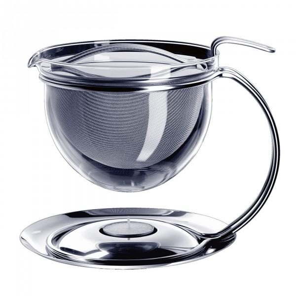 MONO filio Teekanne mit integriertem Stövchen 1,5l